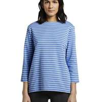 Tom Tailor Women's Ringelshirt Sweatshirt
