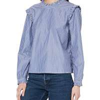 Superdry Women's Avery High Neck Top Blouse
