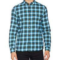 French Connection Men's Classic Flannel Casual Shirt