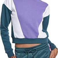 Urban Classics Women's Ladies 3-Tone Arrow Crew Sweatshirt