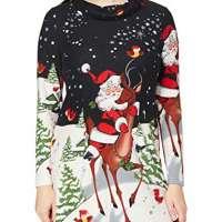 Joe Browns Women's Novelty Santa Tunic Shirt