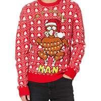 Brave Soul Men's 230TURKEY Pullover Sweater