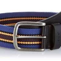 Levi's Men's Classic Leather  Webbing Belt