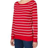 Tommy Hilfiger Women's Boat-NK SWT LS Sweater