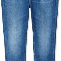 Tommy Jeans Women's Nora Mid Rise Skny Ankl Zip Mnm Straight Jeans