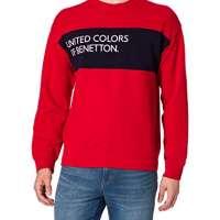 United Colors of Benetton Men's Maglia GC ML 3J68J18G3 Hooded Sweatshirts